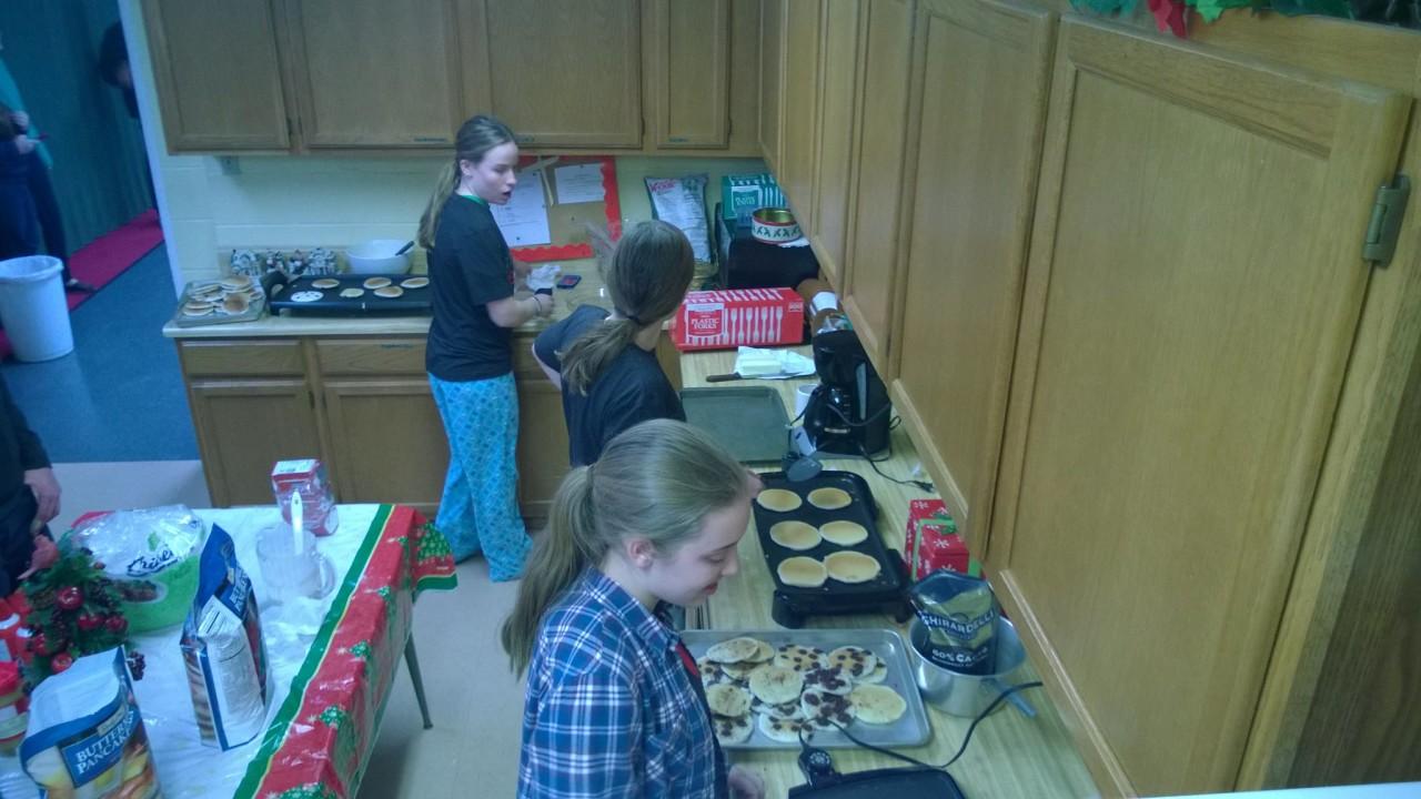 Youth Pancake Fund Raiser for Summer Mission Trip