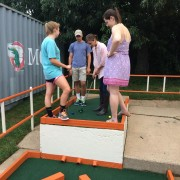 Youth putt